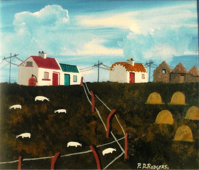 Autumn on Tory by Patsy Dan Rodgers - Tory Island Artist
