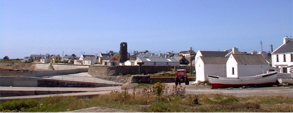 View of West Town on Tory Island