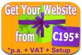 Get Your Website From 140 euro p.a. + Setup + VAT